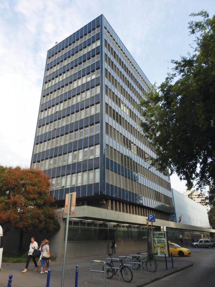 Az MTA KOKI épülete