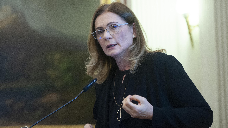 Kovács Ilona, űködő MTA-PPKE Serdülőkori Fejlődés Kutatócsoport, fotó: mta.hu/Szigeti Tamás